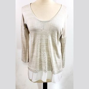 Express NWT Beige Top Size M